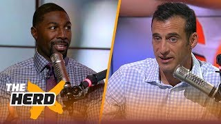Download Greg Jennings on the most impressive rookie QB, Khalil Mack to Packers rumors | NFL | THE HERD Video