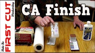 Download CA (super glue) Finish Video
