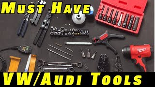 Download 15 Must Have Tools For VW and Audi Repairs Video