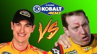 Download Joey Logano & Kyle Busch FIGHT! Crash Analysis Video