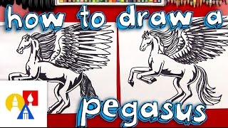 Download How To Draw A Realistic Pegasus (Part 2) Video