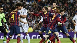 Download El Clasico - Real Madrid vs Barcelona (Fights, Fouls, Red Cards) Video