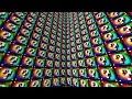 Download Minecraft 1V1V1V1 SPIRAL RAINBOW LUCKY BLOCK WALLS!   (Minecraft Modded Minigame) Video