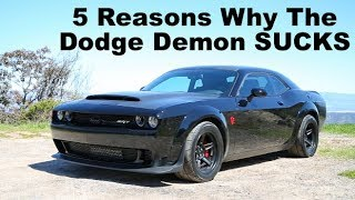 Download 5 Things That SUCK About The Dodge Demon Video