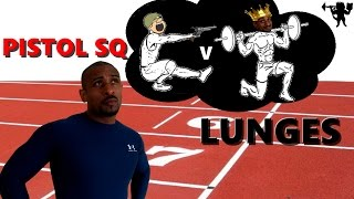 Download How to sprint faster: Pistol Squat v Lunges Video