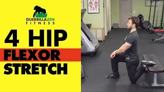 Download Hip Flexor Stretch | Stretch ALL 4 HIP FLEXOR MUSCLES! Video