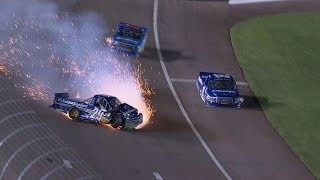 Download Nascar - Camping World Truck Series - 2015 - Crash Compilation (Original Sound - No Music) Video
