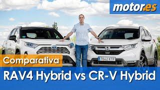Download Toyota RAV4 Hybrid contra Honda CR-V Hybrid | Comparativa de híbridos Video