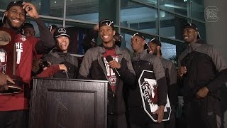 Download Gamecock Men's Basketball Welcome Back Ceremony — 3/26/17 Video