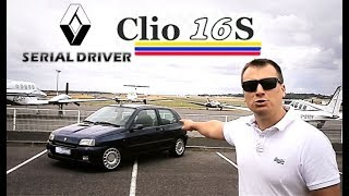Download SERIAL DRIVER : essai youngtimer Renault Clio 16S Video