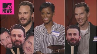 Download 👊 'Avengers: Infinity War' Cast Plays 'Know Your Chris' 😂 | MTV News Video