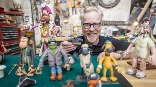 Download Adam Savage Meets Aardman Animations' Puppets! Video