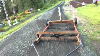 Download Homemade Drag grader Video