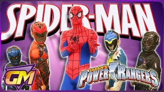 Download Power Rangers Vs Spiderman - Kids Parody Video