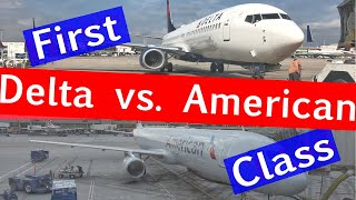 Download FIRST CLASS with Delta Air Lines vs. American Airlines Video