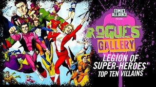Download 10 Greatest Legion of Super-Heroes Villains - Rogues' Gallery Video