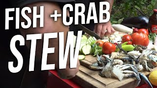 Download Crab and Fish Stew Video