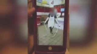 Download Disturbing Snapchat Video Shows Jimmy John's Workers Jumping Rope With Dough Video