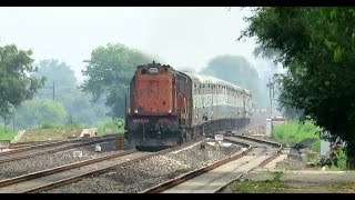 Download Why So Angry ?? Mad Honking KTE WDM3A with Rewa - Jabalpur Intercity Hammers Deori : INDIAN RAILWAYS Video