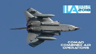 Download 4Kᵁᴴᴰ / GAF Eurofighter & Tornado IDS/ECR - Combined Air Operations (COMAO) @ ILA Berlin 2018 Video