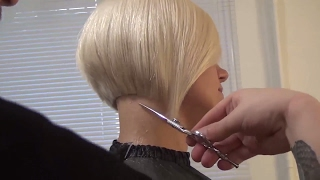 Download Hairdresser education: bob haircut step by step. Hairstyle tutorial. Video