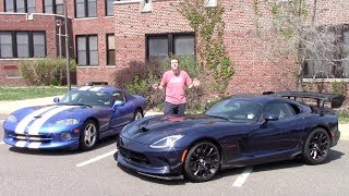Download 2016 Dodge Viper ACR vs. 1997 Dodge Viper GTS: Comparison Test! Video