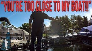 Download Slight Altercation with Waterfront Homeowner on Lake Winnipesaukee Video
