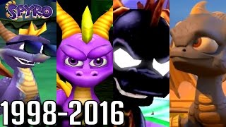 Download Spyro - ALL ENDINGS 1998-2016 (PS4-PS1, Wii U, Xbox, GC) Video