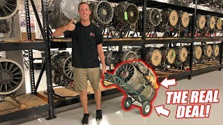 Download WE'RE BUYING A REAL JET ENGINE... The Quest for a ″Street Legal″ Jet Car! Video