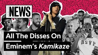 Download All The Disses On Eminem's 'Kamikaze'   Genius News Video