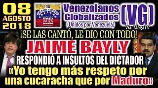 """Download Jaime Bayly RESPONDIÓ A lNSULT0S DEL ÐlCTAÐOR -""""Tengo más respeto por una CUCĄRACHA que por MADURO"""" Video"""
