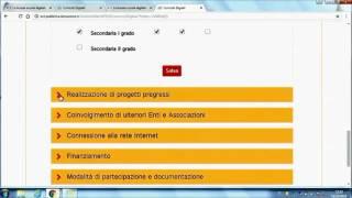 """Download Curricoli Digitali – """"Modalità di candidatura on-line"""" Video"""