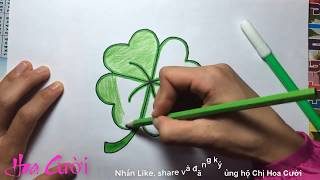 Download Cỏ 4 lá may mắn đầy ý nghĩa - Grassy four lucky leaves full of meaning - hoa cười Video