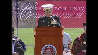 Download General James N. Mattis speaks at CWU Commencement Video