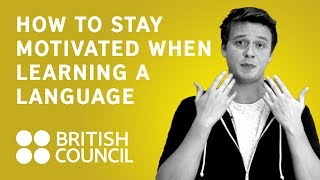 Download How to stay motivated when learning a language Video