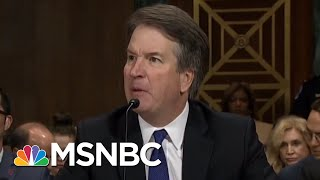 Download Hearing Exposes Brett Kavanaugh Temperament Problem, Credibility Issues | Rachel Maddow | MSNBC Video
