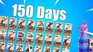 Download 150 Days On Fortnite! Opening 2 Super Hero Llamas! Video