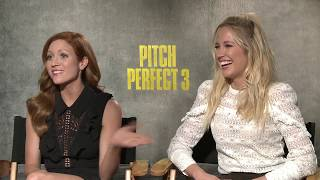 Download Pitch Perfect 3 Anna Camp & Brittany Snow Interview Video