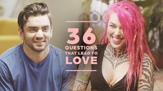 Download Can 2 Strangers Fall in Love with 36 Questions? Claudio + Victoria Video