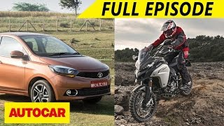 Download Tata Tigor - First Drive & Ducati Multistrada 1200 Enduro - First Ride | Autocar - Episode 67 Video