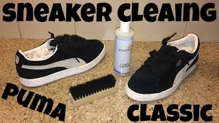 Download Sneaker Cleaning for Classic Suede Pumas Video