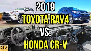 Download ULTIMATE CUV - 2019 Toyota RAV4 Limited vs. 2019 Honda CR-V Touring: Comparison Video