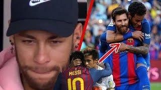 Download Con LÁGRIMAS en los ojos, Neymar CONFIESA lo que Messi hizo por él en el Barça Video