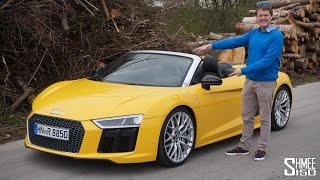 Download Is This a Daily Supercar? The New Audi R8 Spyder Video