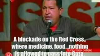 Download Venezuela expels Israeli ambassador- Hugo Chavez Speech - English Translation Video