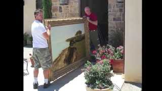 Download How To Hang A Large Painting - 5 Great (essential!) Tips Video