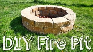 Download DIY STONE FIRE PIT Video