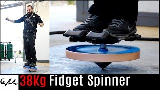 Download Extremely heavy fidget spinner Video