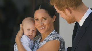 Download Why Meghan Markle and Prince Harry Left Baby Archie in Canada Amid Bombshell Announcement Drama Video