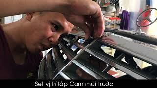 Download Camera 360 độ OView lắp Mercedes Benz E280 W211 Video